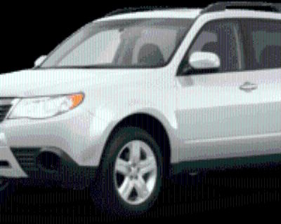 2010 Subaru Forester 2.5X with Special Edition Package Manual