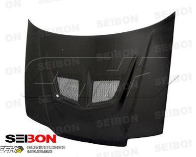 Seibon Carbon Fiber Evo-style Carbon Fiber Hood Kit Auto Body Honda Civic, Crx 8