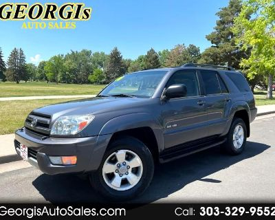 Used 2004 Toyota 4Runner Sport Edition 4WD