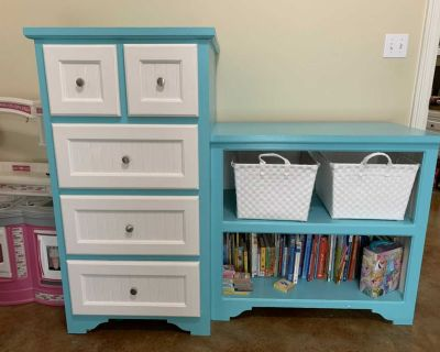 Solid wood dresser/changing table