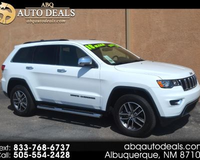 Used 2018 Jeep Grand Cherokee Limited 4x4