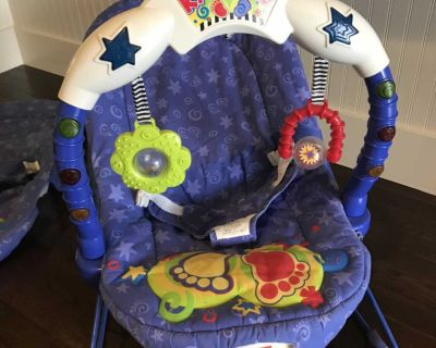 Fisher Price Kick and Play Baby Bouncer Seat