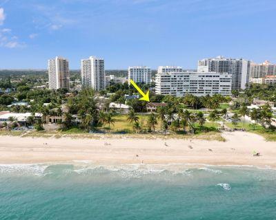 OCEANFRONT+HEATED POOL+POOL TABLE! STEPS 2 BEACH! - Lauderdale Beach