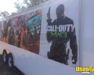 Used 2016 Diamond Cargo Mobile Party and Gaming Trailer / Mobile Entertainment Unit