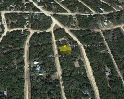 An Amazing Location in a Lakeside Community - Lot 108 Branding Iron Dr Bandera TX 78003