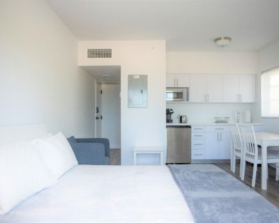 RIGHT ON OCEAN DRIVE! Fully renovated, BRAND NEW, modernly styled apartment fully equipped! - Flamingo/Lummus