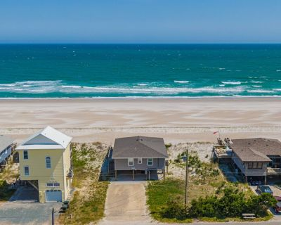 Just for the Shell of It: 4 Br / 2 Ba Oceanfront In Topsail Beach, Sleeps 8 - Topsail Beach