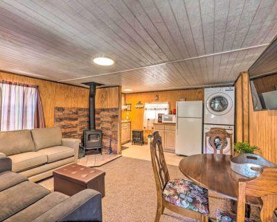 Pet Friendly Cloudcroft Cabin w/ Forest Views - Cloudcroft