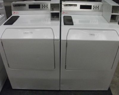 Coin Operated Maytag Neptune Commercial Washing Machine Model MAH21PDAWW