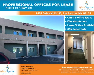 Professional Office Building Space for Lease