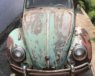 1961 VW bug project Turkis green