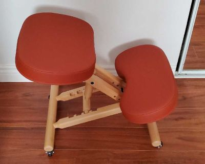 Kneeling chair / chaise agenouill e