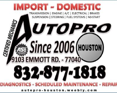 LOW MILEAGE ENGINE SWAPS FOR LESS AT AUTOPRO-HOUSTON