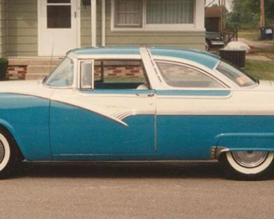 1956 Ford Victoria All-Steel Original Restored Stock