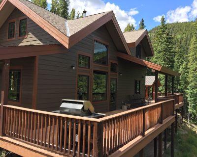 Mt. Evans Cabin with 150 acres, stream, amazing views, skiing, a true getaway - Idaho Springs