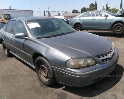 Salvage Gray 2005 Chevrolet Impala