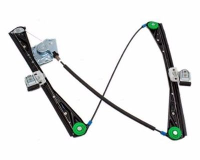 03-06 Lincoln Ls Left Driver Front Door Window Regulator