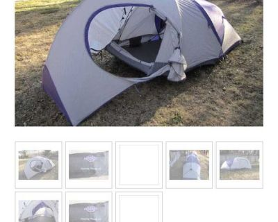 Quest preying mantis 4S two person tent. $80.00.