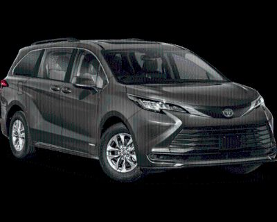 New 2021 TOYOTA Sienna LE Front Wheel Drive