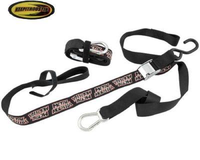 Mulisha Tie Downs Tow Straps For Suzuki Drz Dr 250 350 400 110 1990-2013