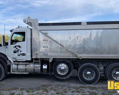 2015 Kenworth T880 Dump Truck 485 Paccar 8LL Heritage Aluminum Bed
