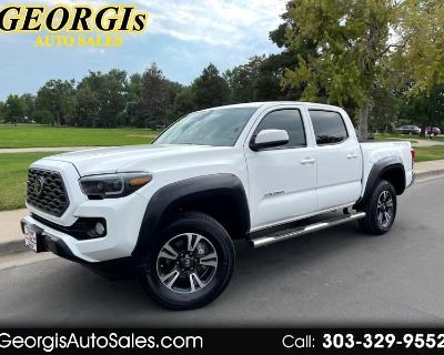 Used 2021 Toyota Tacoma SR5 Double Cab Long Bed V6 6AT 4WD