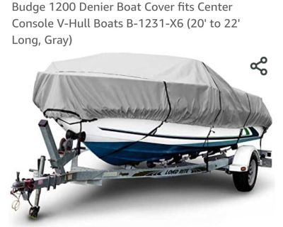 Budge Boat Cover - Brand new