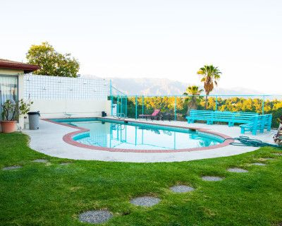 Huge Backyard with Pool, Bridge, Waterfall, Koi Fish pond, and a 1970s vibe with over 4,000 sq. ft., Los Angeles, CA