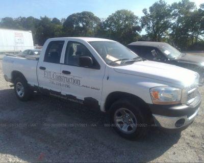Salvage White 2006 Dodge Ram 1500