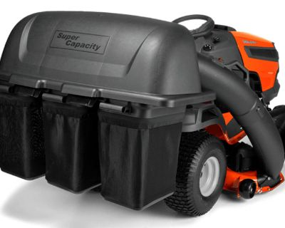 2021 Husqvarna Power Equipment Collector 3 Bag 48 in. ClearCut Deck Tractor Bagger Elma, NY