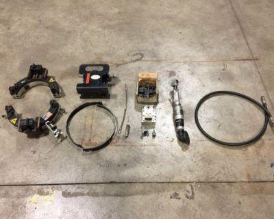 (2) 2013 Hydratight NB10 Pipe Cutter, Pneumatic Kit RTR# 1034469-02, 04