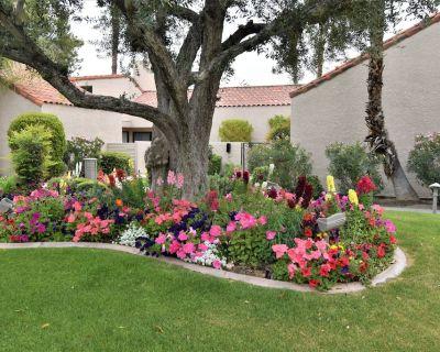 Beautiful 1640 sf remodeled Tennis Villa, 3 bd w/2 masters on 17th green - Rancho Mirage