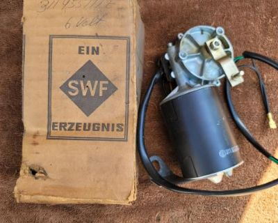 66 type 3 6v wiper motor still n the box SWF