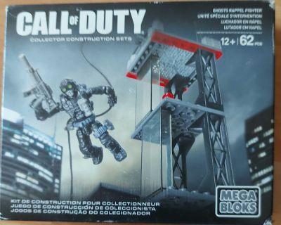 call of duty mega blocks 62 pieces ghosts rappel