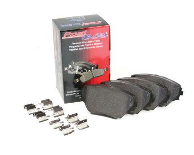 PosiQuiet Semi-Metallic Front Brake Pads 05+ SRT Vehicles (Brembo 4-Piston)