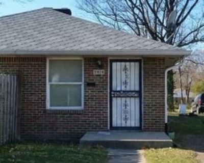 3414 N Parker Ave, Indianapolis, IN 46218 2 Bedroom House