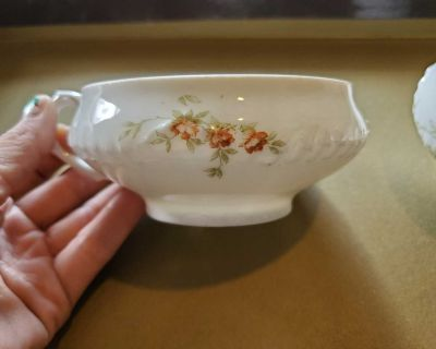 Hand Painted Antique China Cups