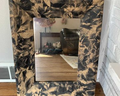 Wall Mirror - 22in wide and 27.5in tall - 2 in deep