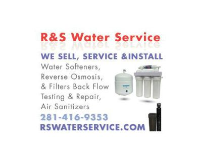 Best Home Water Softeners/ RS Water Svc 281-416-9353