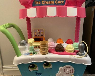 Toy Ice Cream Cart