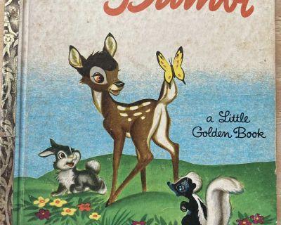 Bambi (Little Golden Book) 1948