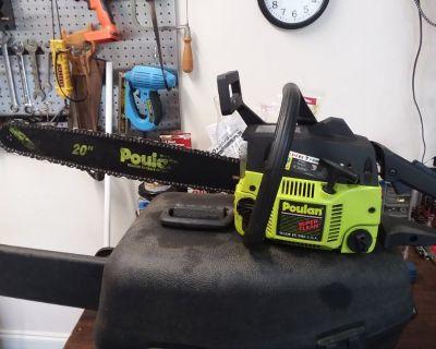 """Poulan 2775 20"""" chain saw"""