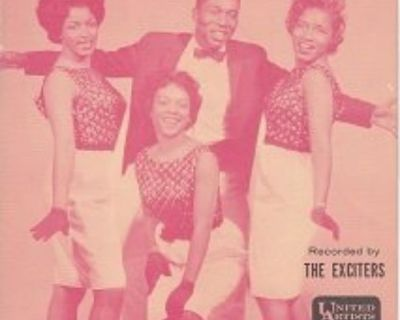 EXCITERS ~ He's Got The Power*Rare Sheet Music !
