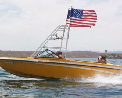 SKI Supreme wakeboard boat