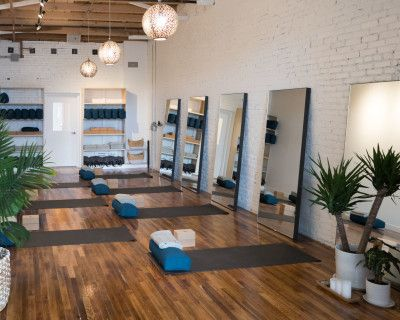 Beautifully restored vintage yoga studio, incredibly intimate and curated with the intention to heal., Denver, DE