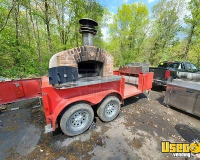 2015 Wood-Fired 16' Brick Oven Pizza Concession Trailer / Mobile Pizzeria