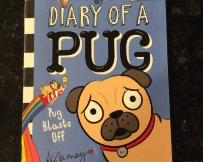 NEW Diary of a Pug: Pug Blasts Off