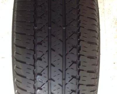 Used Tire 215-55-17 93s M+s Firestone Fr710