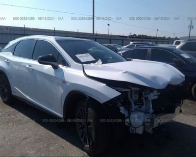 Salvage White 2019 Lexus Rx