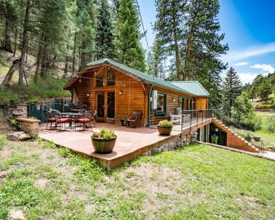 Colorado Bear Creek Cabins Creekside Log Home - Evergreen
